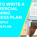 HOW TO WRITE A COMMERCIAL CLEANING BUSINESS PLAN FREE SAMPLE BUSINESS PLAN